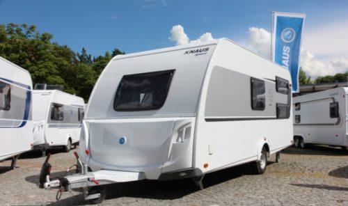 Exteriér nového karavan knaus Sport 500 KD
