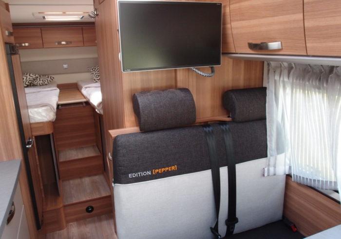 Televize v obytném autě WEINSBERG PEPPER 600 MEG