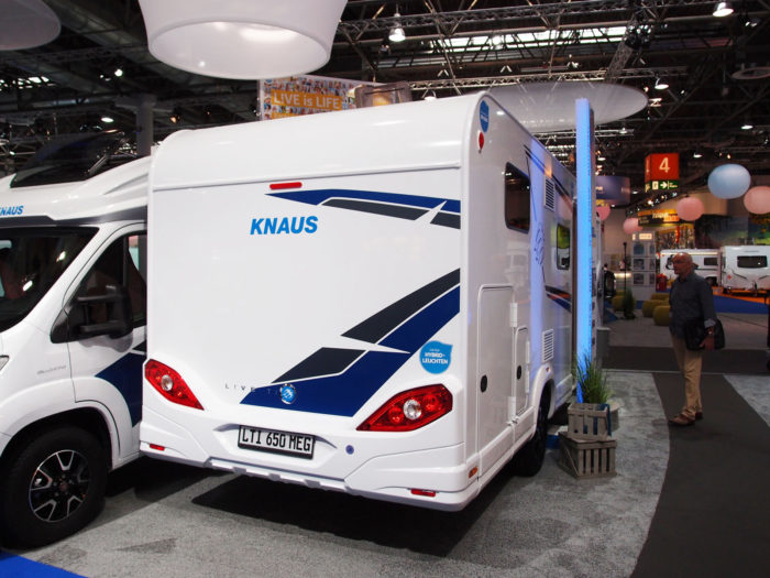 obytné auto Knaus Live TI 650 MEG