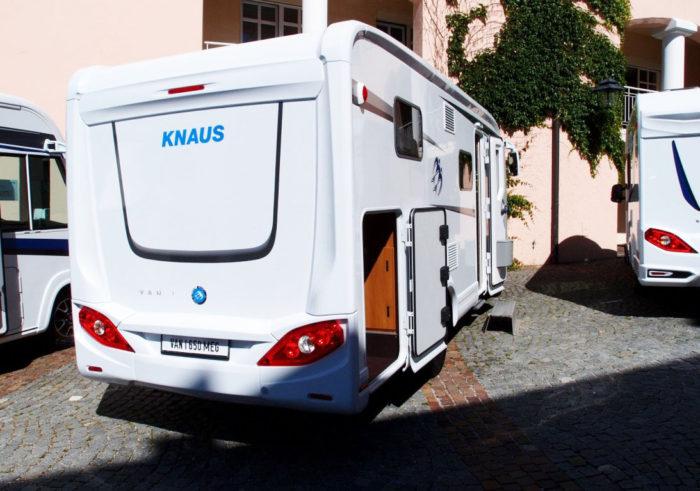 obytné auto KNAUS VAN I 650 MEG
