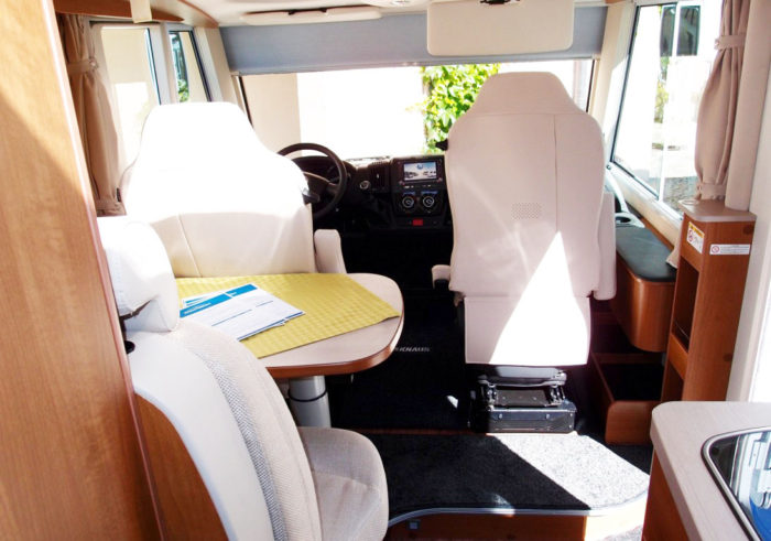 Interiér obytného auta KNAUS VAN I 650 MEG