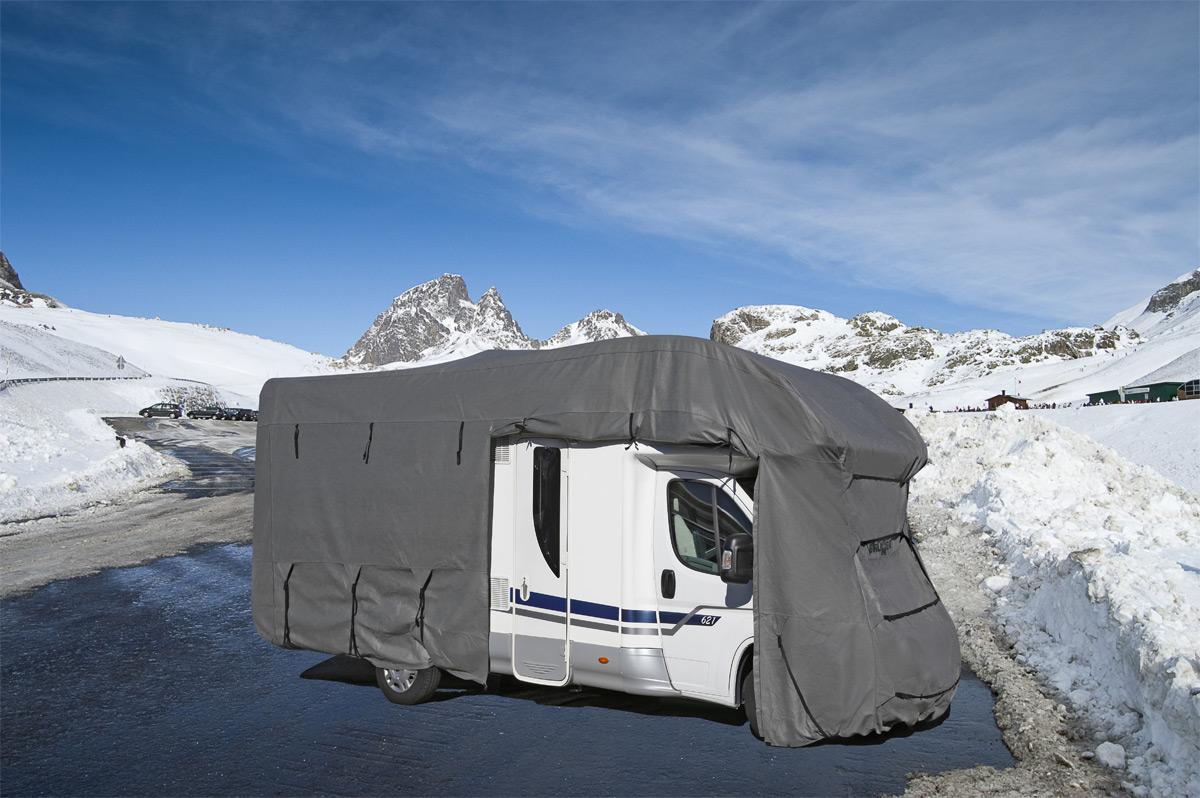 Zazimování karavanu a obytného auta