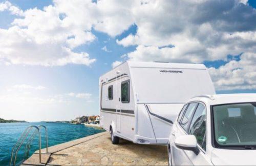 Exteriér nového karavanu Weinsberg CaraOne 480 QDK