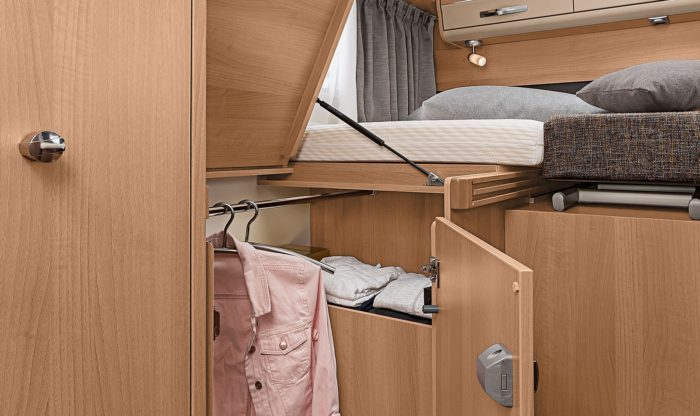 Nábytek v Obytném vozu Knaus Van I 650 MEG Platinum Selection