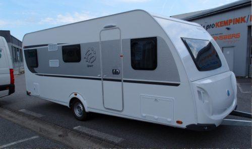 Exteriér karavan KNAUS SPORT 580 QS
