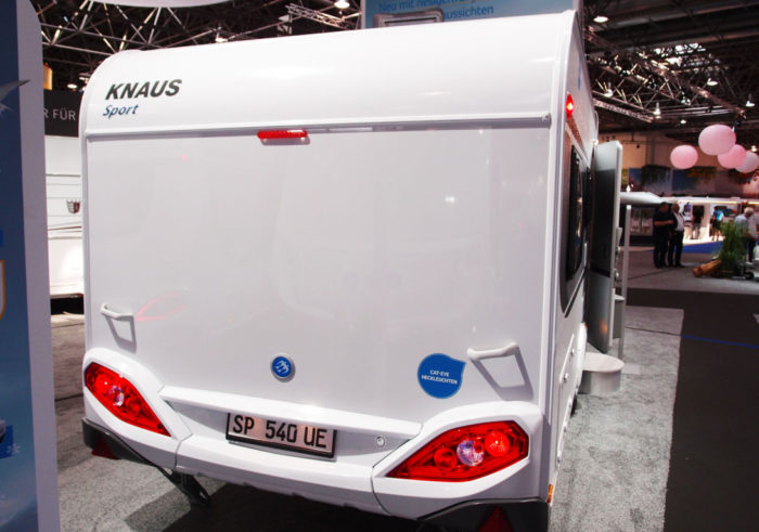 Obytný přívěs Knaus Sport 540 UE