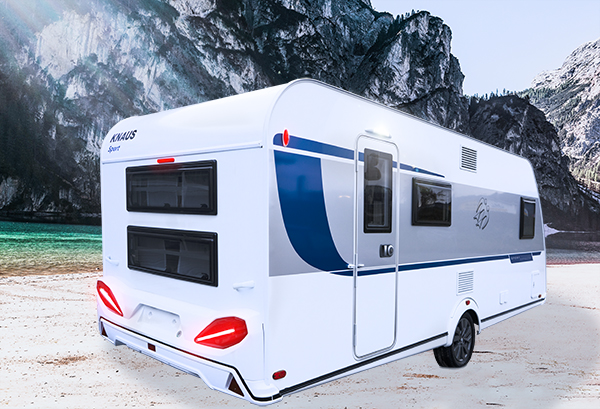 KNAUS SPORT 540 FDK 2019 – Ediční model SILVER SELECTION