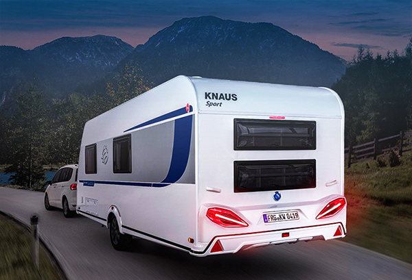 KNAUS SPORT 500 QDK 2019 - Ediční model SILVER SELECTION