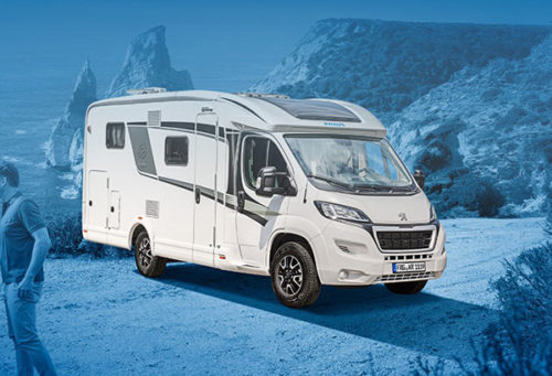 Obytné auto luxusní Van TI 650 MEG Platinum Selection