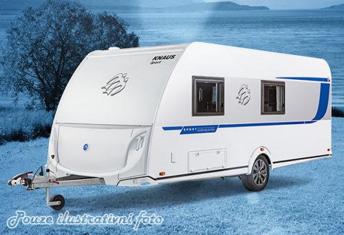 Karavan KNAUS SPORT 500 KD model 2019