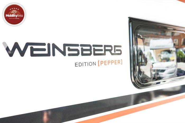 OBYTNÝ VŮZ WEINSBERG PEPPER 600 MEG 2020
