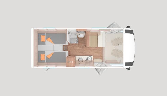 Obytné auto Weinsberg Caracore 650 model 2020