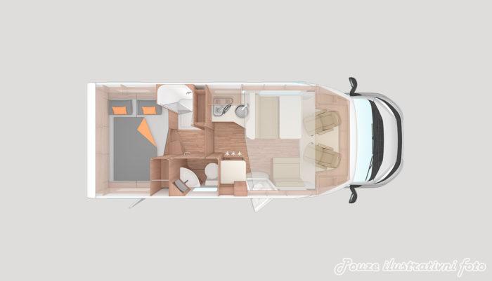 Obytné auto Weinsberg CaraSuite 700 ME